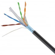 Price per Meter CAT6 FTP Pure Copper Gigabit Outdoor Ethernet Cable