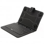 Husa Tableta MRG® L-298 7 Inch Cu Tastatura Micro Usb , Negru