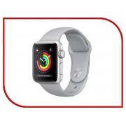 Умные часы APPLE Watch Series 3 42mm Silver with Fog Sport Band MQL02RU/A