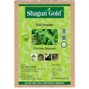 Shagun Gold 100 percent Natural Tulsi Leaves Powder (Pack Of 2) 400Gm