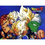android saga sticker poster dragon ball z poster anime poster size:12x18 inch multicolor