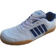 Galvin Badminton Shoe Badminton Shoes For Men(White)