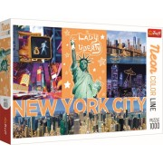 Puzzle clasic - New york neon 1000 piese