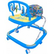 Suraj baby adjustable musical walker with Blue color for your kids se-w-65