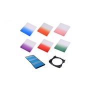Kit 6 filtre + holder Commlite Graduated Color compatibile Cokin P