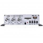 Equipo De Audio, Lepy LP - A68 Mini USB SD FM HiFi-Negro