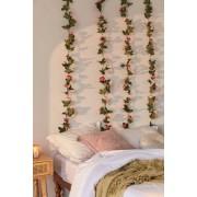 Urban Outfitters Guirlande décorative plante grimpante rose- taille: ALL