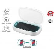 Dezinfekčný box XGerm ULTRA - Aroma sterilizácia za 8 minút s 2x 1W UV + Bezdrôtové nabíjanie 10W