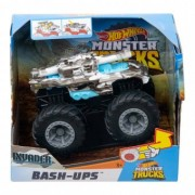 Hot Wheels Monster Trucks Bash-Ups Masinuta Invader GDR86