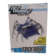 Diy Tech Model Kit Spiderbot Robot Spider With Real Crawling Action By Fbm