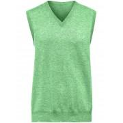 Peter Hahn V-ringad slipover i ren kashmir från Peter Hahn Cashmere grön