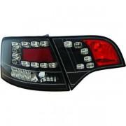 Set fari fanali posteriori TUNING per AUDI A4 Avant 11/2004-2007 LED nero con freccia LED