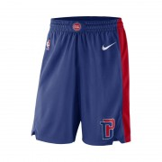 Detroit Pistons Nike Icon Edition Swingman NBA-Herrenshorts - Blau