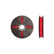 Filamento PLA p/ impressora 3D vermelho grande MP05779 Makerbot