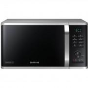 Cuptor cu microunde Samsung MG23K3575AS, 800W, 23 L, Grill, EcoMode, Heat Wave, Control digital, Argintiu