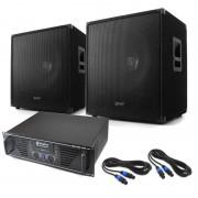 "Skytec DJ PA система 'LEWIS 1600 BASS HURRICANE' 17.7"" 1600W комплект (PL-60000051-10001710)"