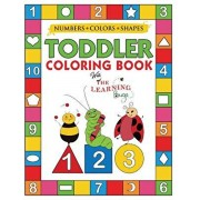 My Numbers, Colors and Shapes Toddler Coloring Book with The Learning Bugs: Fun Children's Activity Coloring Books for Toddlers and Kids Ages 2, 3, 4, Paperback/The Learning Bugs