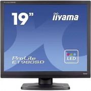 IIYAMA E1980SD-B1 LED 48.3 cm (19 ) 1280 x 1024 pix SXGA 5 ms DVI, ...