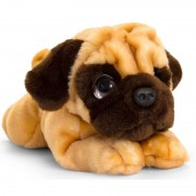 Keel Toys Mopshond honden knuffeldier 37 cm