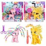 Hasbro my little pony capelli pazzi b3603 pinky pie applejack assortiti (no scelta)