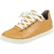 Elvace Yellow Casual Shoes-7026