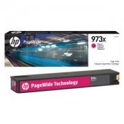 Тонер касета HP 973X High Yield Magenta Original PageWide Cartridge, F6T82AE