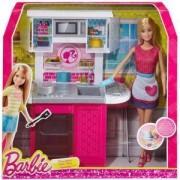 Барби - Комплект кукла с кухня - Barbie, 1712533