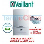 Vaillant Caldaia A Condensazione Vaillant Ecotec Pure Vmw 2467 2 24 Kw Classe A A Kit Fumi In Omaggio