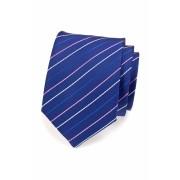 Pánská kravata modrá s jemnými proužky Avantgard 559-1541
