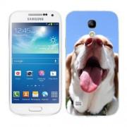 Husa Samsung Galaxy S4 Mini i9190 i9195 Silicon Gel Tpu Model Funny Dog