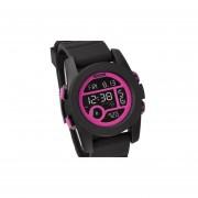 Reloj Nixon Unit A4901614 Japon-Negro Con Fuscia