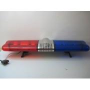 Pachet Rampa luminoasa girofar stroboscopica flash + Sirena si Difuzor 100W