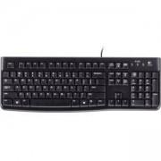 Стандартна клавиатура Logitech K120, Черна, 920-002818