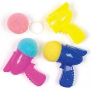 Baker Ross Space Pop & Catch Games - 6 Pop N Catch Toys In 4 Colours. Hand Eye Coordination Toys For Kids. Size 7cm.