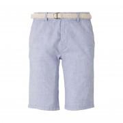 Tom Tailor Short Chino Tom Tailor en coton stretch bleu ciel - BLEU - XL