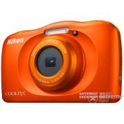 Aparat foto Nikon Coolpix W150, portocaliu + rucsac