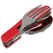 Gift Studio Camping Picnic Multi-utility Knife(Red)