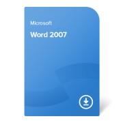 Microsoft Word 2007, 059-07262 elektroniczny certyfikat