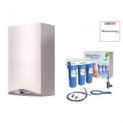 Produs cadou la Pachet centrala termica in condensare Ariston CARES PREMIUM 24 EU 24 KW + filtru de apa potabila Valrom PUR 3 UF