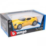 Метална количка Bburago Gold 1:18 - Alfa 8C - 2 налични модела - Bburago, 093120
