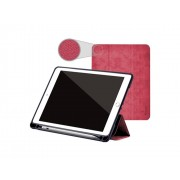 Comma Pouzdro / kryt pro iPad 2017 / 2018 - Comma, Leather Case Red (Pencil Slot)