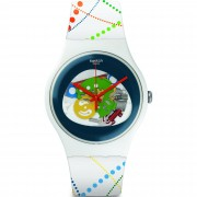 Ceas barbatesc Swatch SUOW128 Swiss Dots in Rio