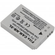 ER Nueva 3.7V 1400mah Batería De Ion De Litio De Repuesto Para Cámara Canon NB-5L -Gris