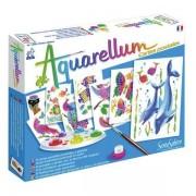 Set pictură Aquarellum – Cărți poștale cu animale