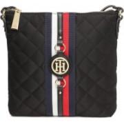 Tommy Hilfiger Women Casual Black Nylon Sling Bag