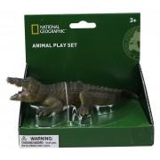 Figurina Crocodil National Geographic, 18 x 7 x 4 cm, 3 ani+