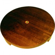 WOODEN ROLLING BOARD WOODEN CHAKLA SAGWAN WOOD HIGHEST QUALITY PRODUCT CHAKLA 9inch 1pc