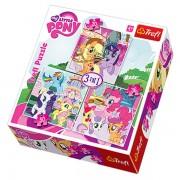 Trefl Puzzle Slagalica 3u1 Rainbow Dash and Fluttershy (34190)