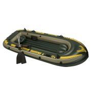 Barca gonflabila Seahawk IV 4 persoane Intex 68351