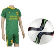 Combo of Conext15 Football (Size-5)with Suit (Jersey + Shorts)